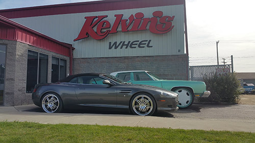 Kelvin's Wheel, Tire, and Polish