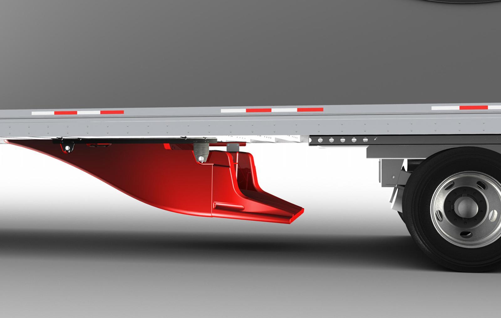 Aerodynamic Tractor Trailer : Smart truck aerodynamic systems thermo king northwest
