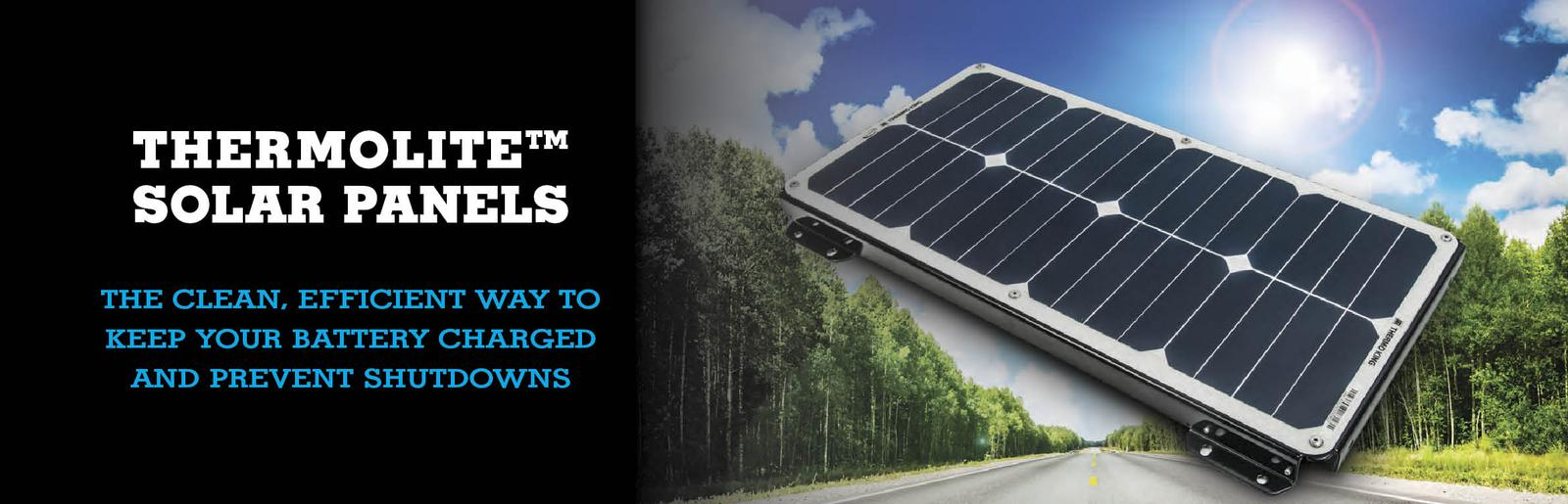ThermoLite™ Solar Panels