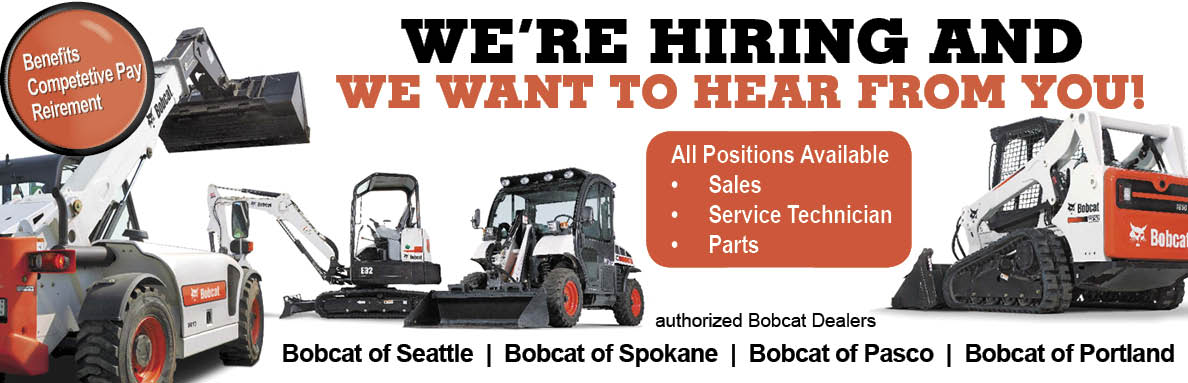 Authorized Bobcat Dealers of WA & OR