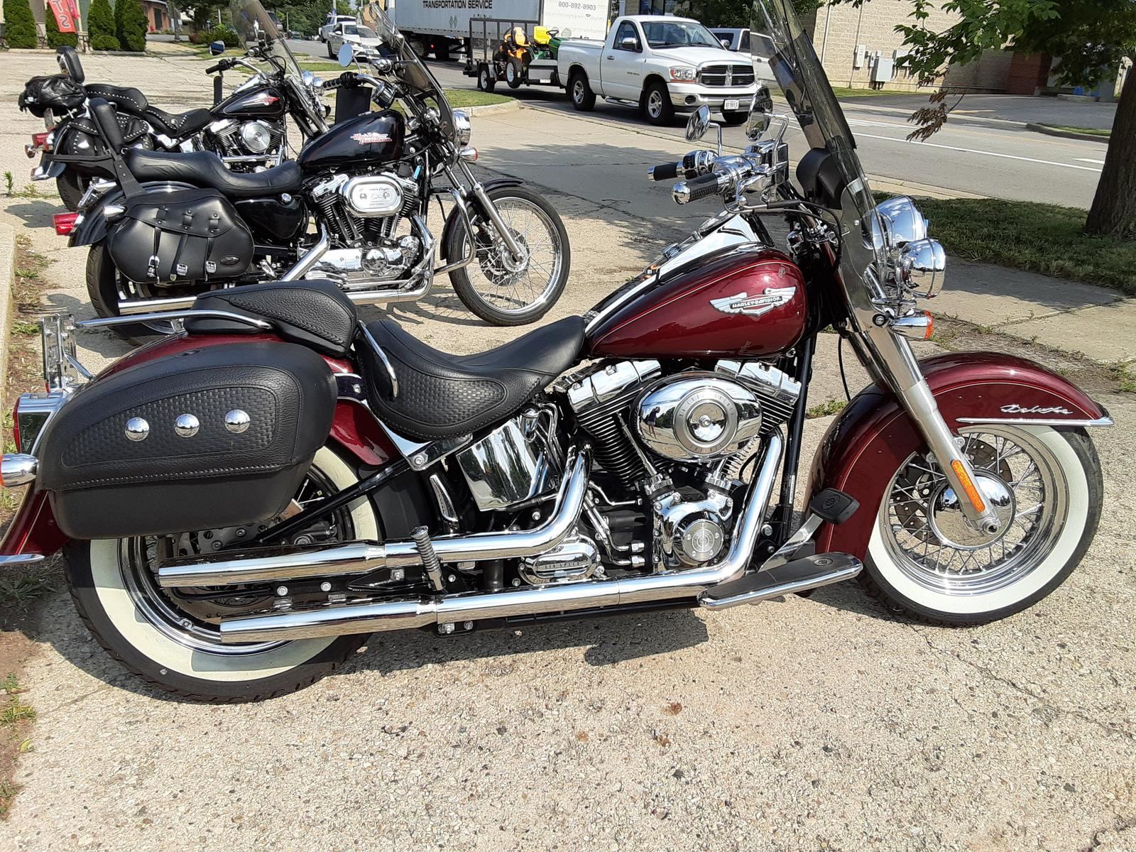 2008 Harley Davidson Softail Deluxe For Sale In Marengo Il War Performance Marengo Il 866 927 7373