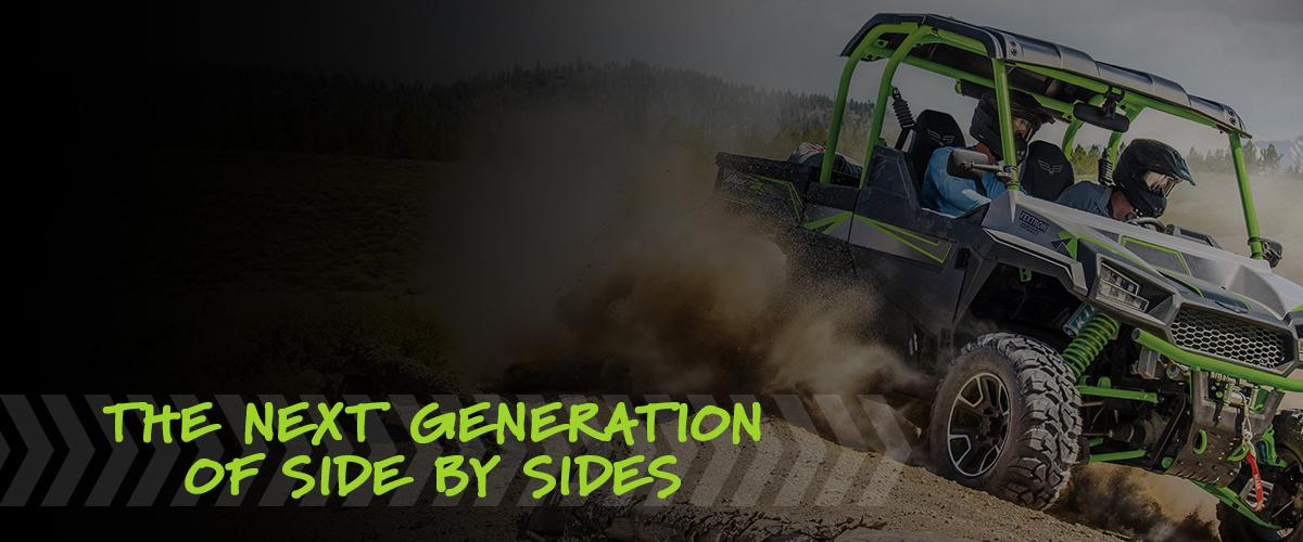 Textron Off Road Side by Sides | Havoc X, Wildcat XX, Stampede & More