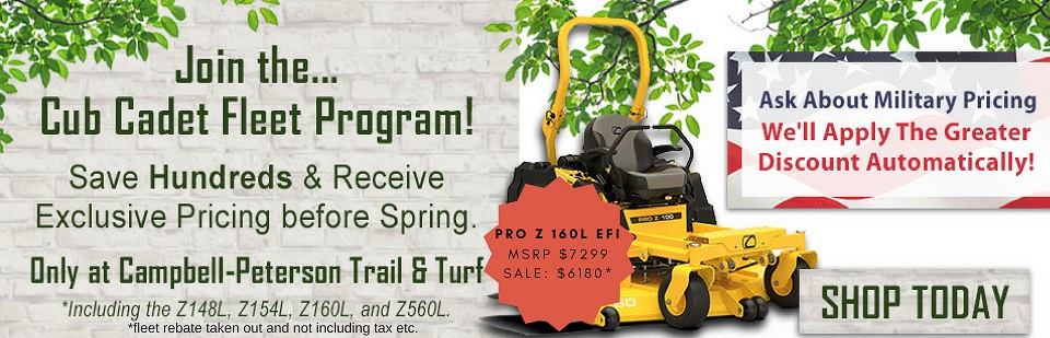Shop Cub Cadet Zero-Turn Mowers! Lowest Prices in Mercer County!
