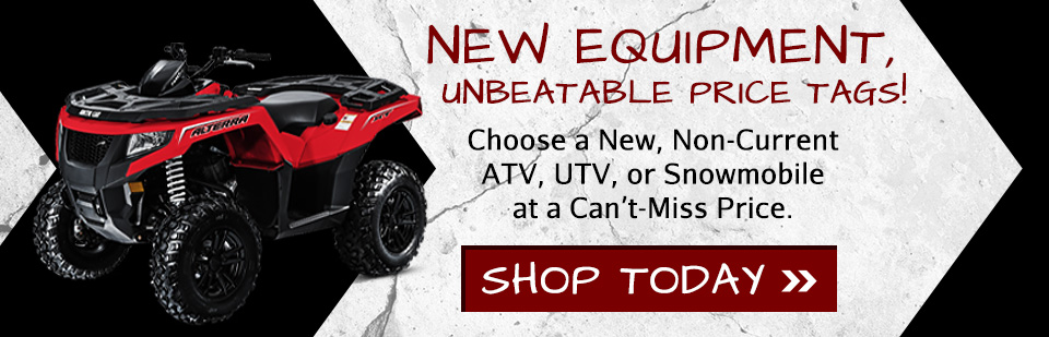 Shop New Non-Current Powersports Inventory - ATVs, Side by Sides, Snowmobiles & More -  Mercer Co, PA