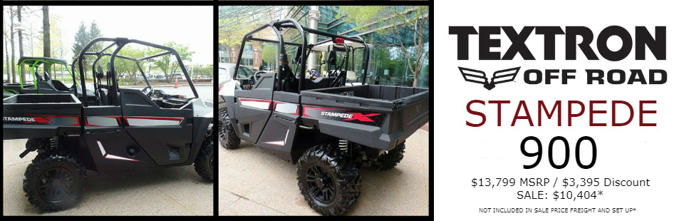 Textron Stampede: Coming Soon!