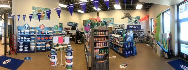Panoramic shot of our store
