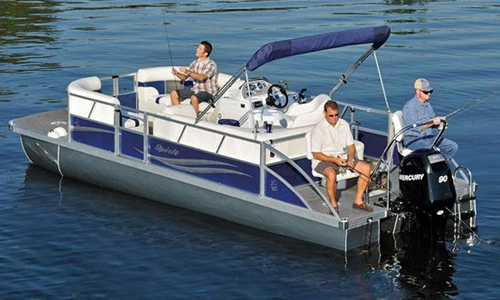JC SportToon Pontoon Boats