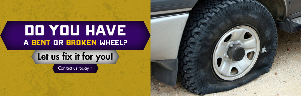 Do you have a bent or broken wheel? Let Omaha Casing fix it for you! Click here to contact us.