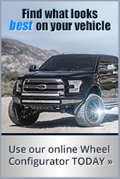 Find what looks best on your vehicle. Use our online Wheel Configurator today.