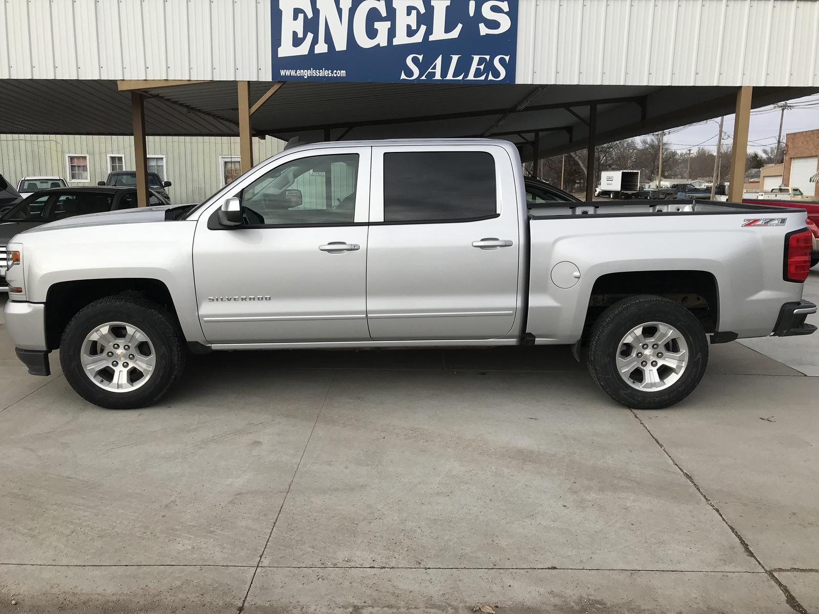 2017 Chevy Silverado Z71 For In Norton Ks Engel S Service Center Inc 785 877 3391