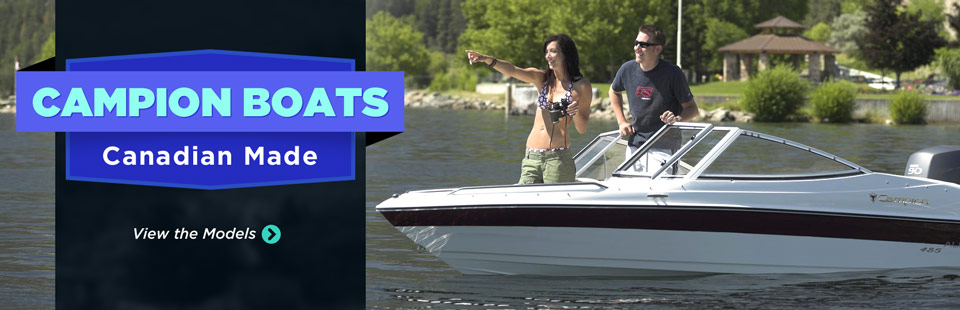 Campion Boats: Click here to view the models.