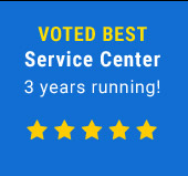 Voted Best Service Center 3 years running!