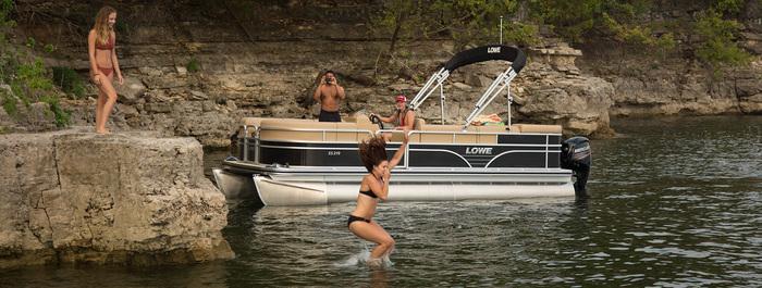 Lowe SS Series Pontoon Boats