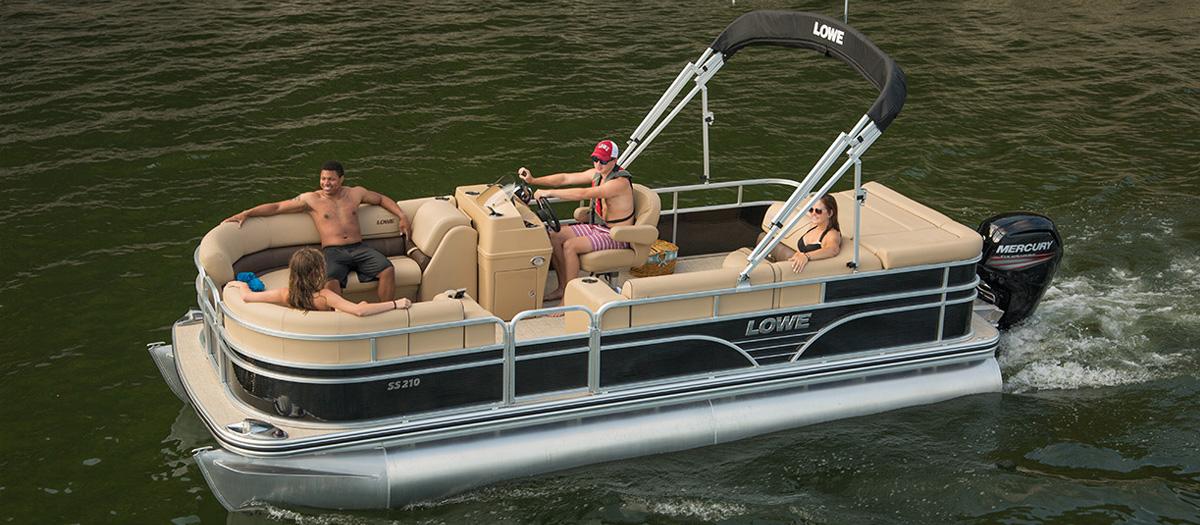 Lowe Pontoon Boats