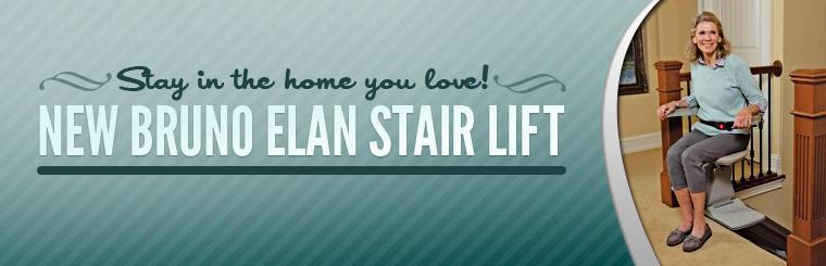 Click here to check out the new Bruno Elan stair lift.