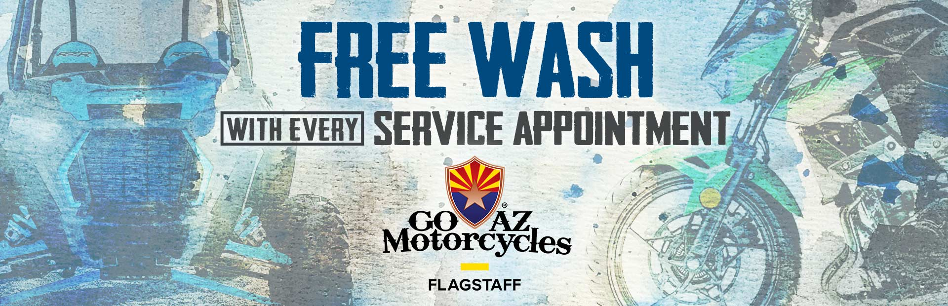 Free wash with every service appt.