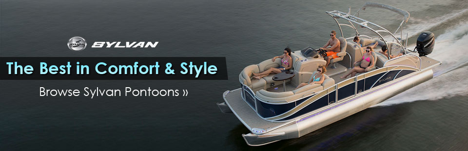 Click here to browse our selection of Sylvan pontoons!
