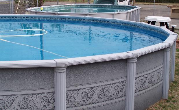 Above Ground Pools Splashy And Fun Displayed At Poolco For You To See Up Close Poolco Tri
