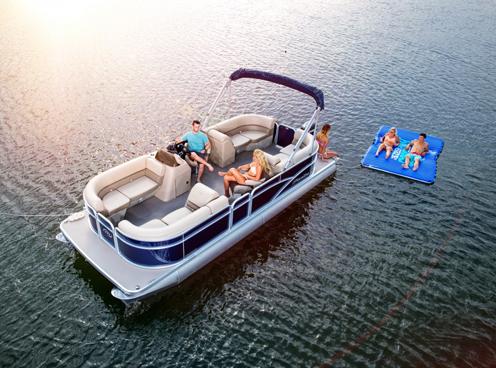 Leisure Pontoon Boats
