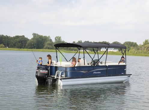 Angler Pontoon Boats