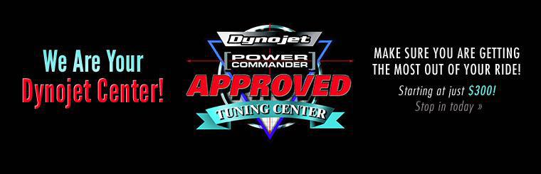 We are your Dynojet center! Services start at just $300! Stop in today.