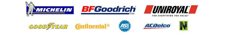 We carry products from Michelin®, BFGoodrich®, Uniroyal®, Goodyear, Continental, and ACDelco. We are ASE certified.  We offer nitrogen service.
