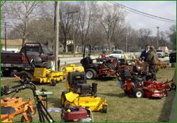 Terpstra's Sales has tons of equipment!