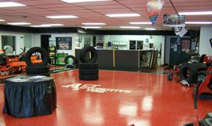 Act Tire & Auto - Showroom