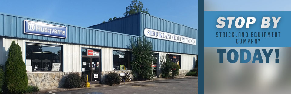 Stop by Strickland Equipment Company today! Click here for directions.