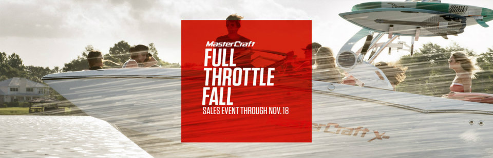 MasterCraft Sales Event