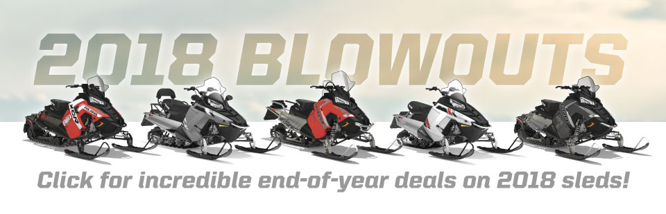 2018 Polaris Snowmobiles