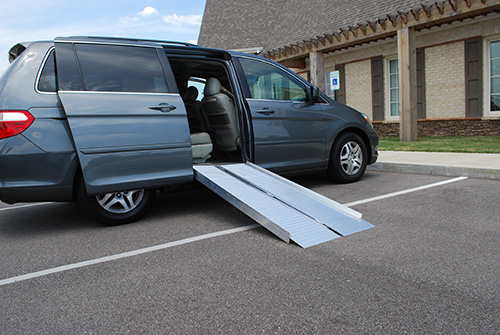 American Access Side Kick Folding Ramp