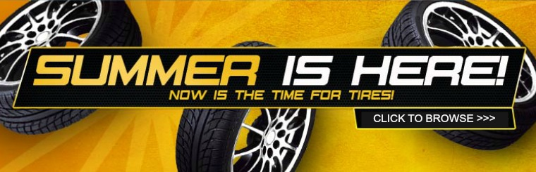 Summer is Here! Now is the time for tires in Kings Mountain NC. Click here to browse!