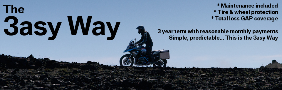 Stop worrying about paying for service work and start planning your next adventure with the '3asy Way'.