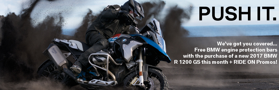 Get loaded up and head out on a new BMW R 1200 GS right now. Best bike in the world, great deal... Let's ride!