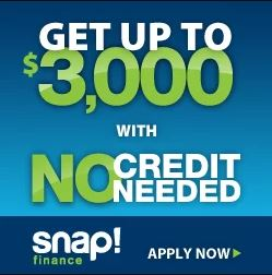 Financing, credit card, snap, synchrony, payment options