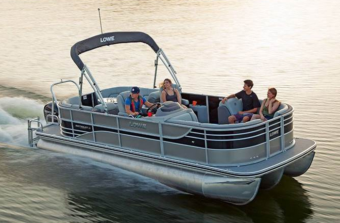 Infinity Series Pontoon by Lowe Boats in Denver, CO