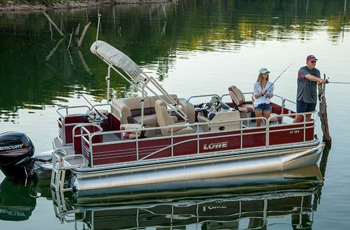 SF Series Pontoon by Lowe Boats in Denver, CO