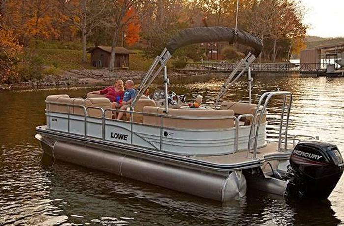 SS Series Pontoon by Lowe Boats in Denver, CO