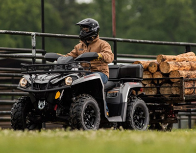 New Can-Am ATV's