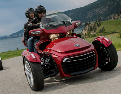 New Can-Am Spyder