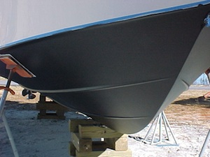 Bottom Repair and Painting
