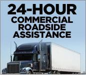 24-Hour Commercial Roadside Assistance
