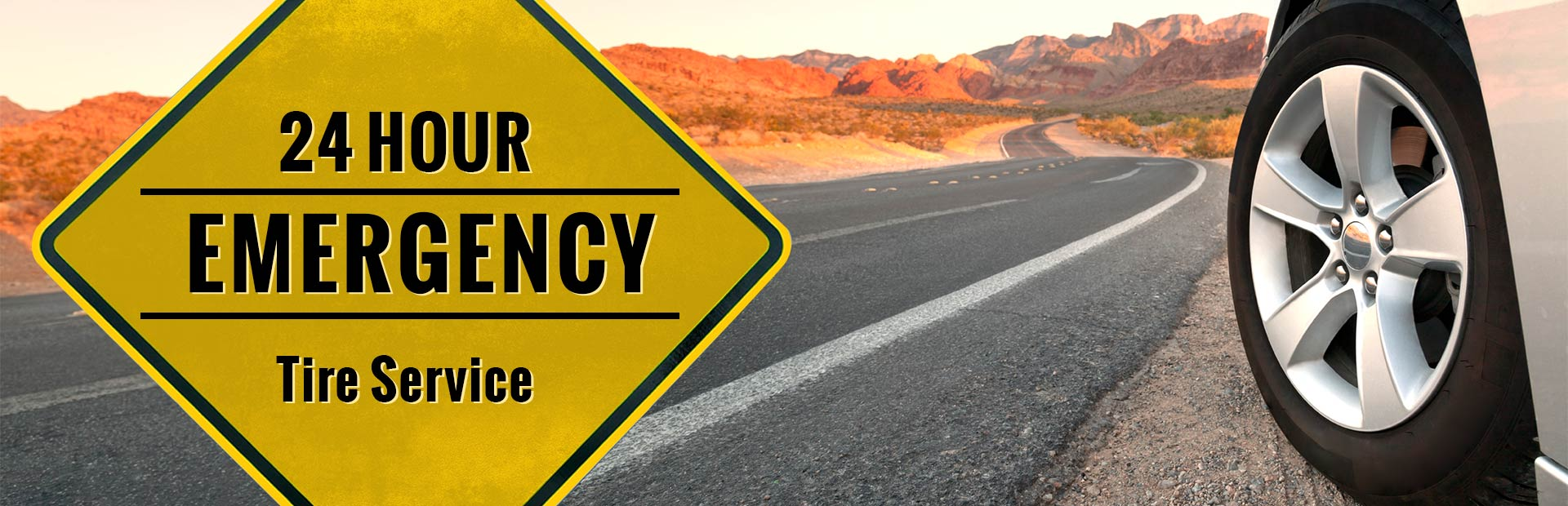 24 Hour Emergency Tire Service: Click here to contact us!