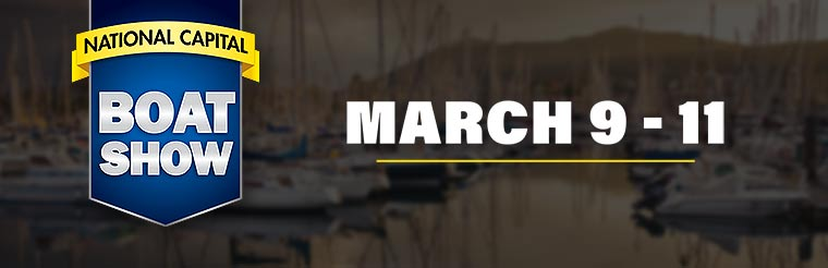 Join us March 9 - 11 for the National Capital Boat Show! Click here for details.