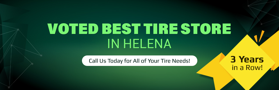 Montana Tire Co. was voted Best Tire Store in Helena 3 years in a row! Call (406) 431-9222 today for all of your tire needs!