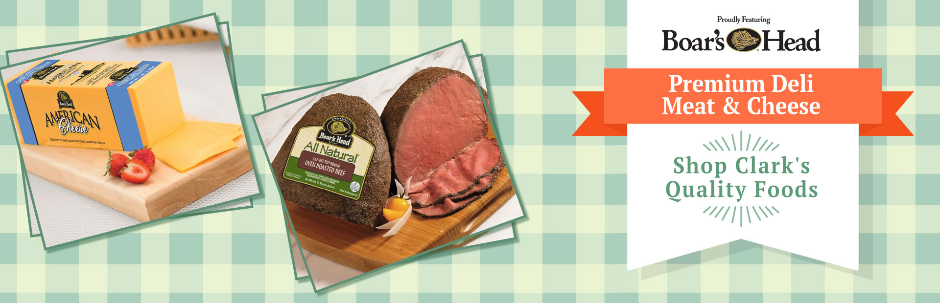 Boar's Head Premium Deli Meat & Cheese