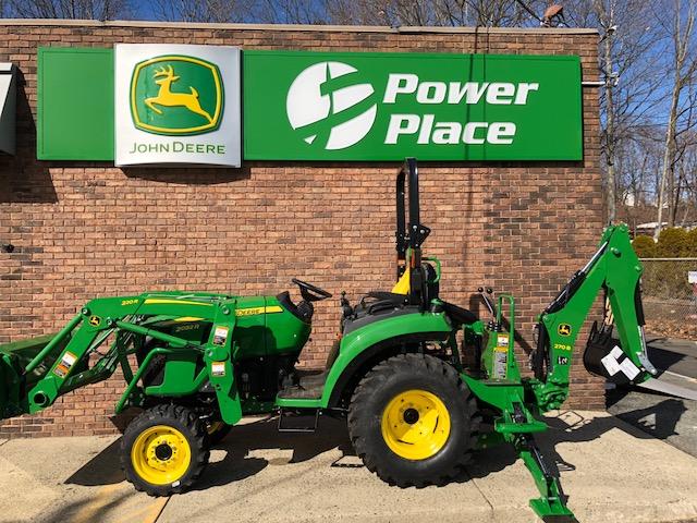 2020 John Deere 2032r Tractor W Loader Backhoe For Sale In New Jersey Nj Power Place Inc