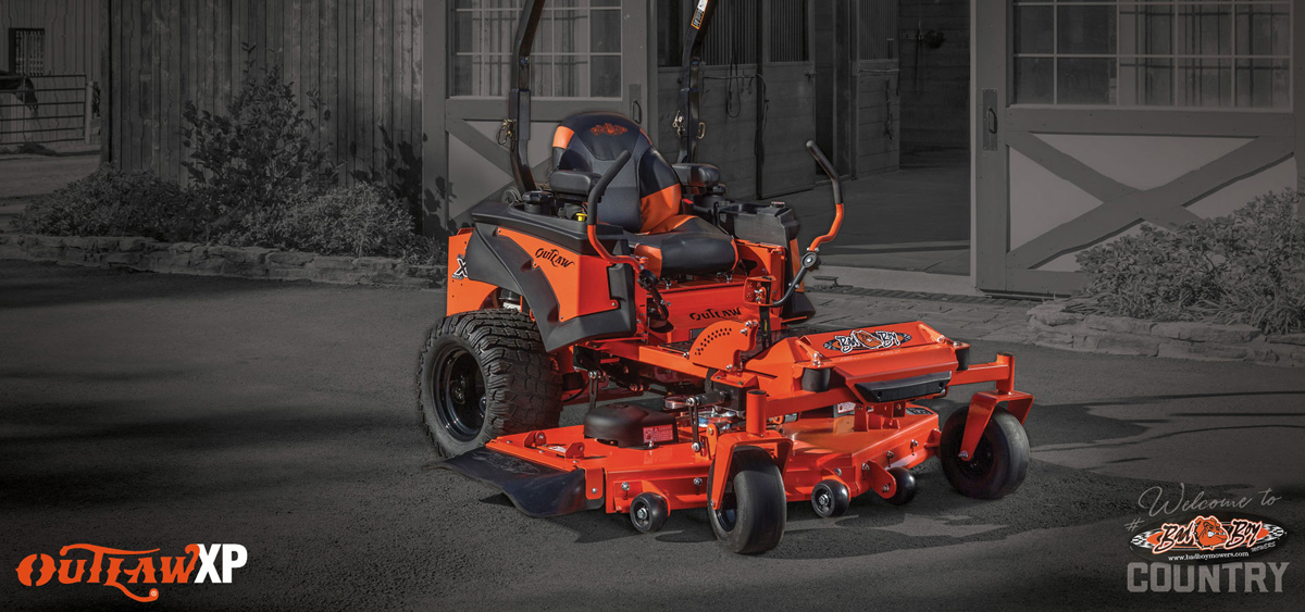 Meet the Bad Boy Outlaw XP Zero-Turn Lawn Mower Rathbone Sales Moses