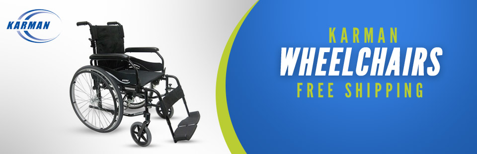 Get free shipping on Karman wheelchairs!